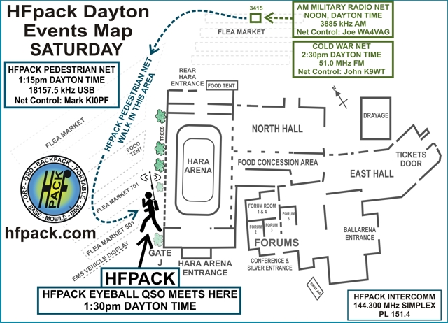 HFpack Dayton Events Saturday