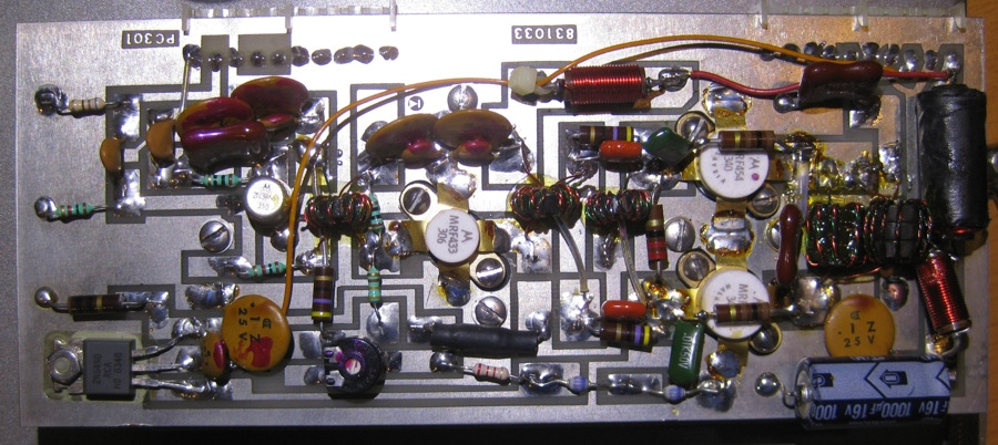 KACHINA_MP_25_HF_SSB_MANPACK Final Amplifier Board