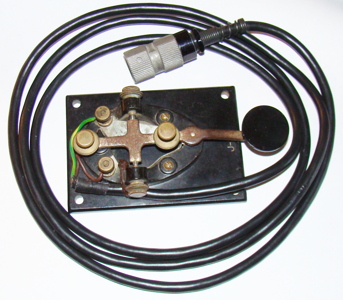 CW KEY WIRED TO U-229 CONNECTOR