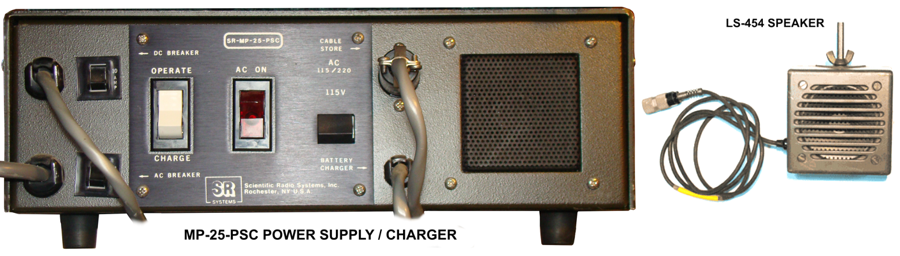 SCIENTIFIC_RADIO_SYSTEMS_SR_MP_25_PSC Power Supply Charger LS-454 Speaker